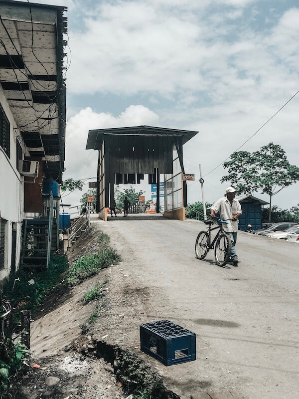 Grenzübergang Panama Costa Rica