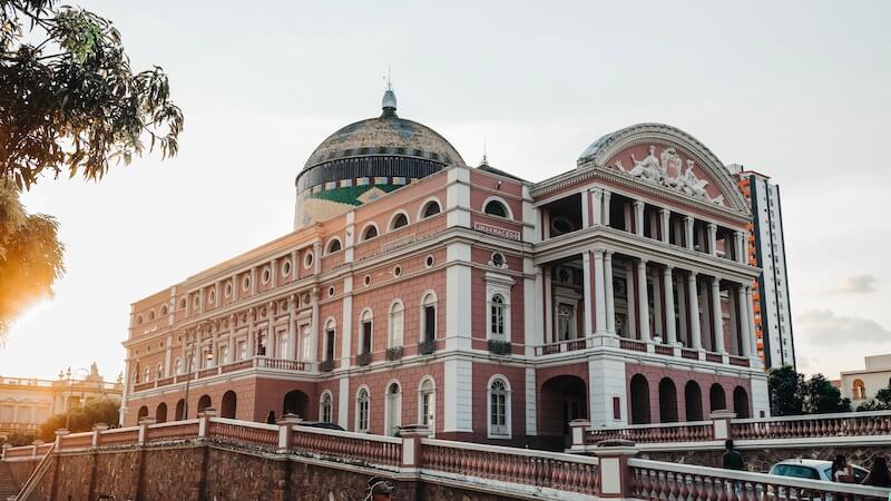 Opernhaus Manaus Brasilien