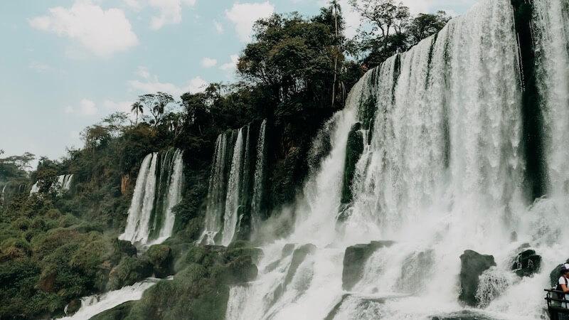 Circuito Inferior Iguazú Wasserfälle