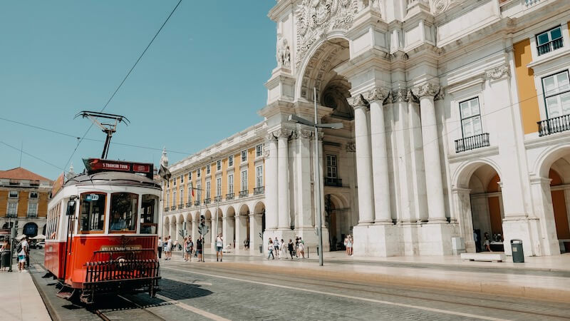 Tram 28E Lissabon