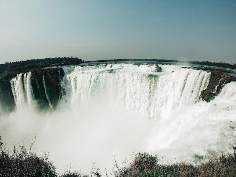 Garganta del Diablo Iguazú Wasserfälle