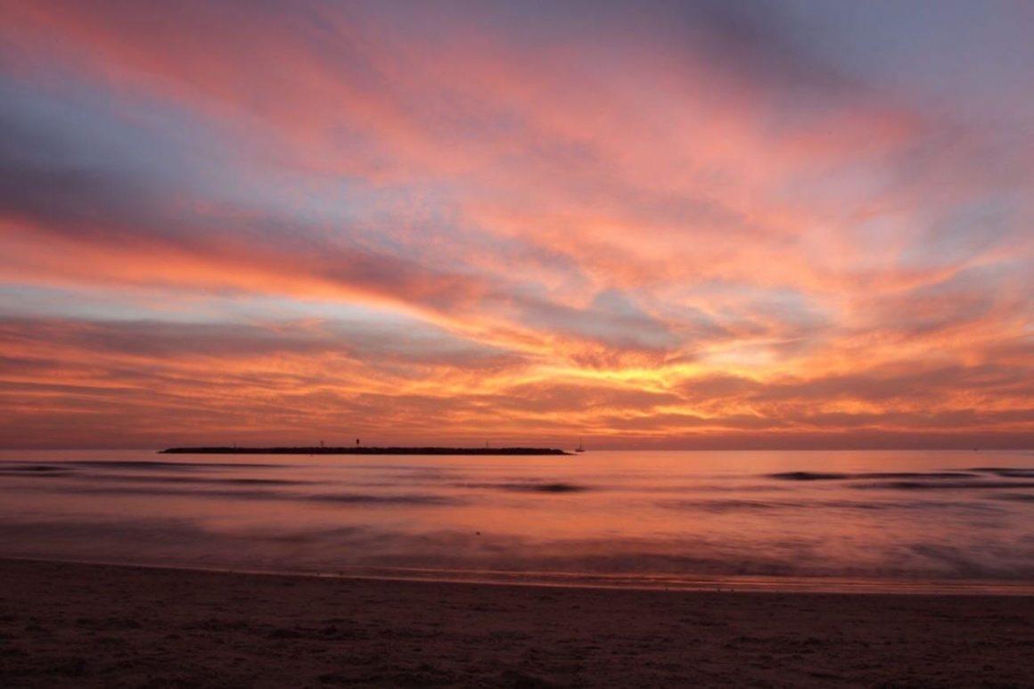 Sonnenuntergang Tel-Aviv