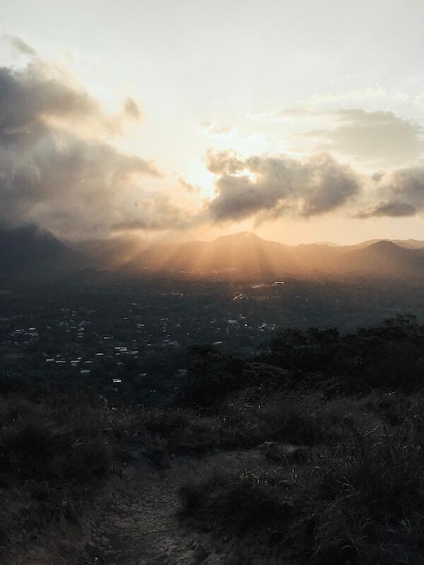 Sonnenaufgang El Valle de Antón