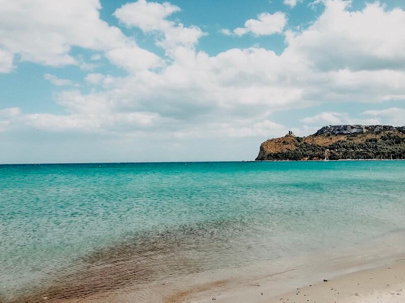 Poetto Strand Sardinien