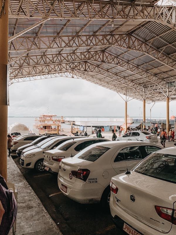 Hafen Manaus Brasilien