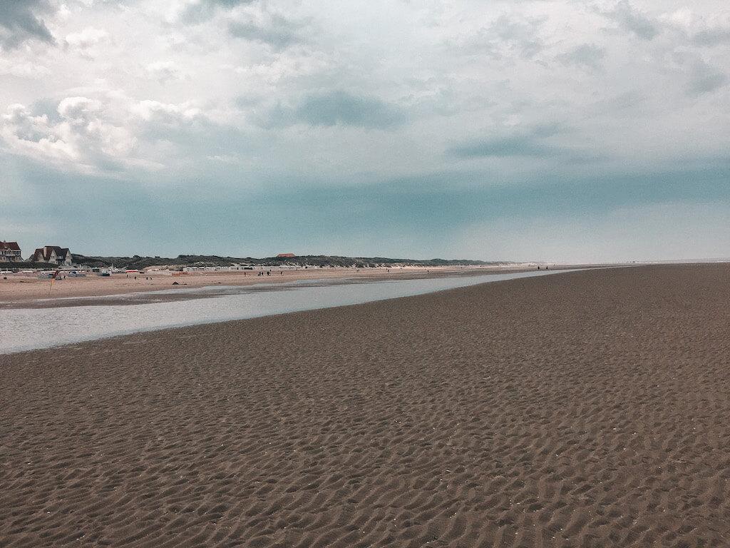 Strand Belgien